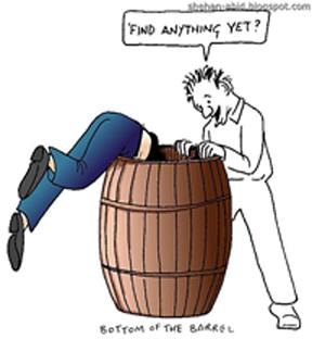 bottom-of-the-barrel