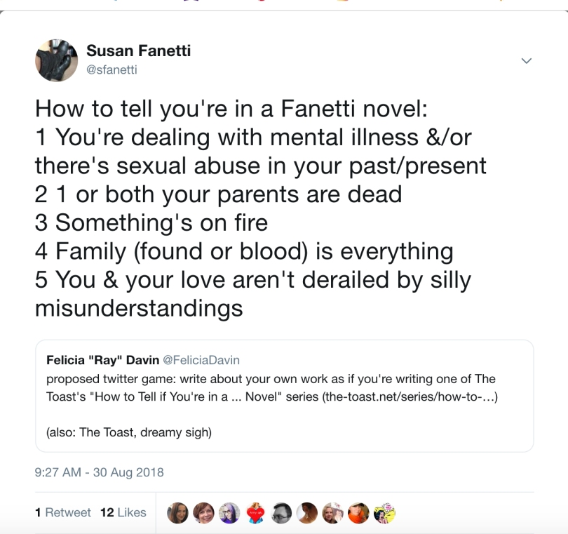 fanetti novel