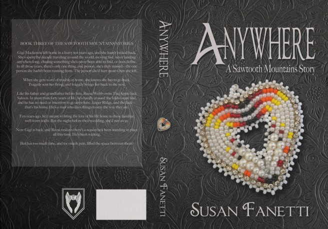 Anywhere paperback bead heart