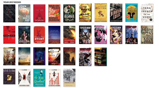 summer 2019 books read